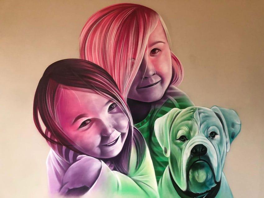 Street Art portretten